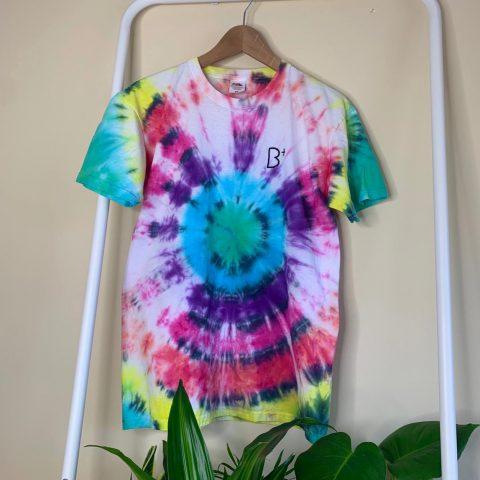 B+ Tye Dye Target Top